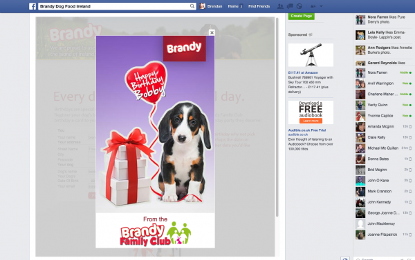 Brandy Facebook Birthday Cards